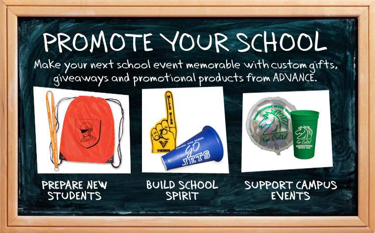 Promote Your School Spirit With Professionally Printed Products